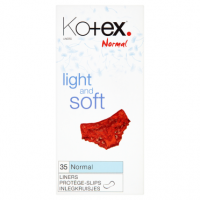 Kotex Normal Light and Soft Liners 35's