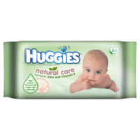 Huggies Natural Care Wipes x 64