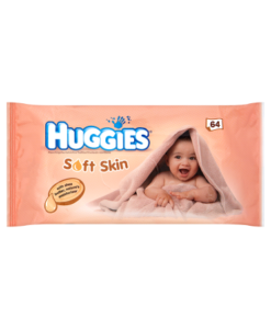 Huggies Soft Skin 64 Wipes