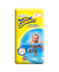Huggies Little Swimmers Swim Nappies Size 2-3 3kg-8kg, 7lb-18lb 12 Pants