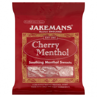 Jakemans Cherry Menthol Soothing Menthol Sweets 100g