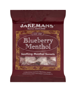 Jakemans Blueberry Menthol Soothing Menthol Sweets 100g