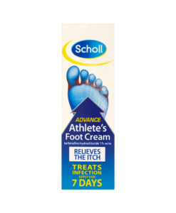 Scholl Advance Athlete's Foot Cream 15g