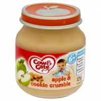 Cow & Gate Apple & Cookie Crumble from 6m Onwards 125g