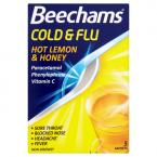 Beechams Cold & Flu Hot Lemon & Honey 5 Sachets