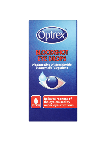Optrex Bloodshot Eye Drops 10ml