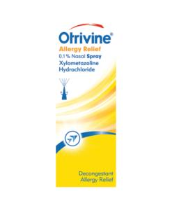 Otrivine Allergy Relief 0.1% Nasal Spray 10ml