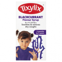 Tixylix Blackcurrant Flavour Syrup 3 Months to 5 Years 100ml