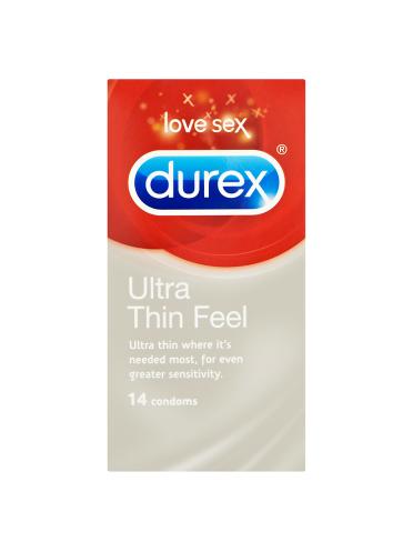 Durex Ultra Thin Feel 14 Condoms