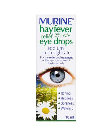 Murine Hayfever Relief Eye Drops 10ml