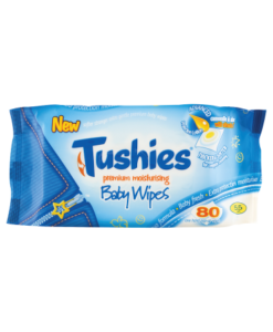 Tushies Premium Baby Wipes 80 Wipes