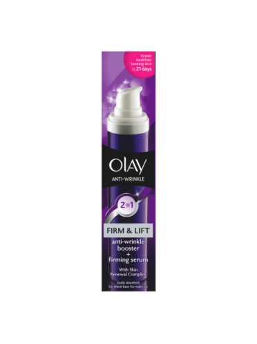 Olay Anti-Wrinkle Firm & Lift 2in1 Anti-Ageing Cream + Firming Serum 50ml