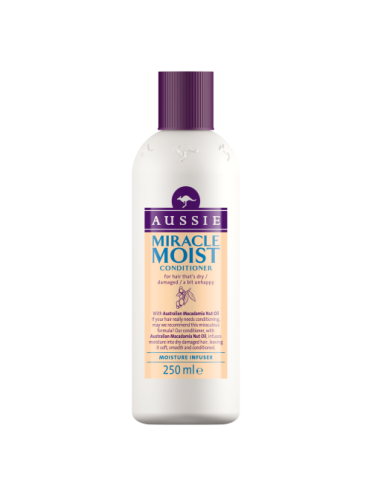 Aussie Conditioner Miracle Moist for dry damaged hair 250ml