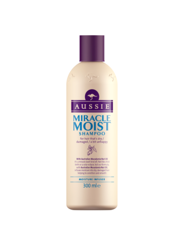 Aussie Shampoo Miracle Moist for dry damaged hair 300ml