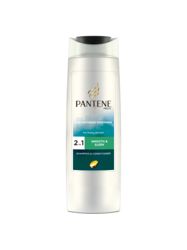 Pantene Pro-V Smooth & Sleek 2in1 Shampoo & Conditioner 250ml