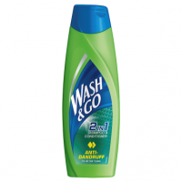 Wash & Go Anti-Dandruff 2in1 Shampoo & Conditioner 400ml