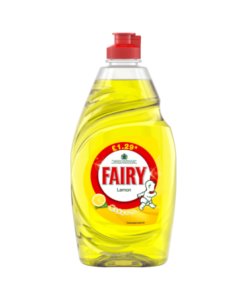 Fairy Lemon Washing Up Liquid 433ml PMP