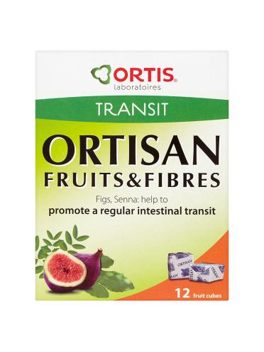 Ortis Ortisan Transit Ortisan 12 Fruits & Fibres Cubes 120g