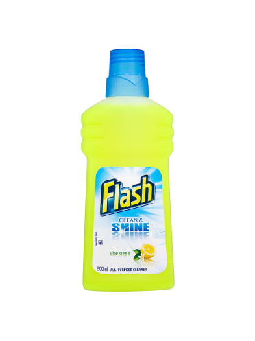 Flash Clean & Shine Crisp Lemons 500ml