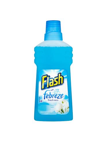 Flash with Febreze Freshness Cotton Fresh 500ml