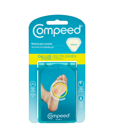 Compeed Callus 6 Medium Plasters