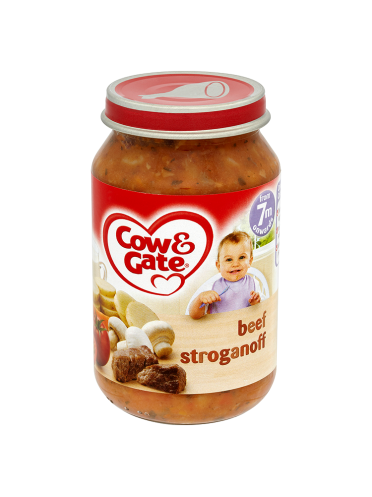 Cow & Gate Beef Stroganoff from 7m Onwards 200g
