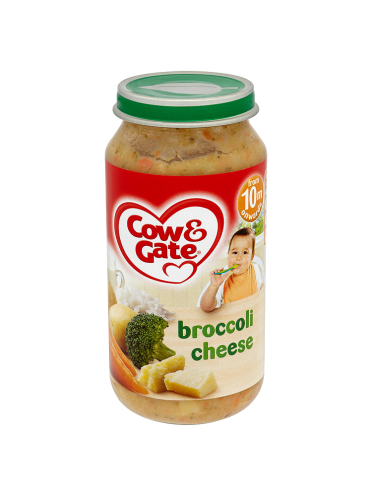 Cow & Gate Broccoli Cheese from 10m Onwards 250g