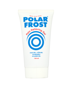 Polar Frost Pain Relieving Gel with Aloe Vera 150ml