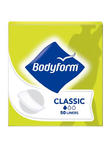 Bodyform Classic 50 Pantyliners
