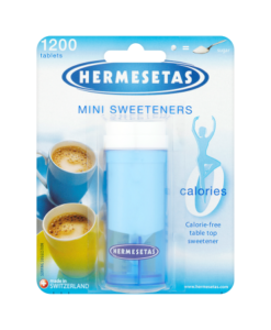 Hermesetas Mini Sweeteners 1200 Tablets 18.0g