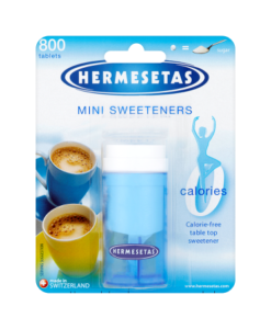Hermesetas Mini Sweeteners 800 Tablets 12.0g