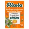 Ricola Mouthwateringly Good Swiss Herbal Sweets Sugar Free Scrumptious OrangeMint 45g