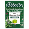 Ricola Mouthwateringly Good Swiss Herbal Sweets Sugar Free Fresh Mountain Mint 45g