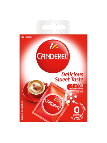 Canderel 0 Calorie 500 Tablets 42.5g