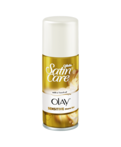 Gillette Satin Care With Touch Of Olay Sensitive Shave Gel 75ml