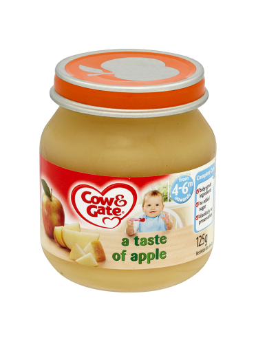 Cow & Gate A Taste of Apple from 4-6m Onwards 125g