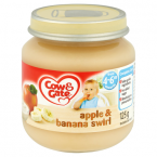 Cow & Gate Apple & Banana Swirl from 4-6m Onwards 125g