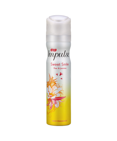 Impulse Sweet Smile Body Spray 75ml