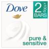 Dove Pure & Sensitive Beauty Bar 2 x 100g