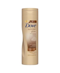 Dove Summer Glow Medium to Dark Nourishing Lotion 250ml