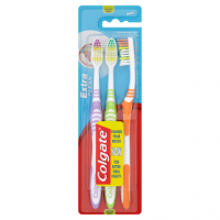 Colgate Extra Clean Toothbrushes Triple Pack