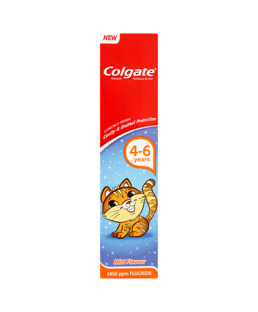 Colgate Kids Toothpaste for 4-6 Years 50ml