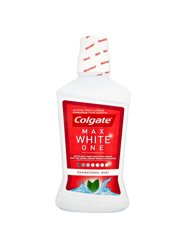 Colgate Max White One Sensational Mint 500ml