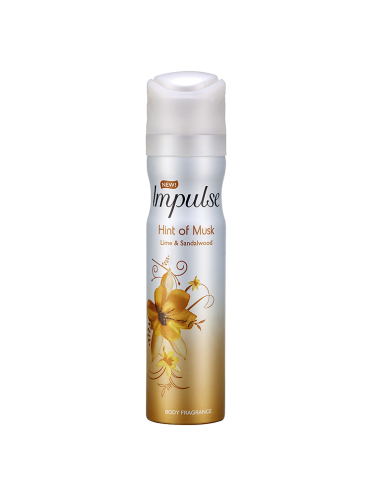 Impulse Hint of Musk Body Spray 75ml