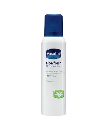 Vaseline Aloe Fresh Aerosol Anti-Perspirant Deodorant 150ml