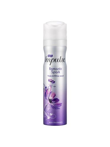 Impulse Romantic Spark Body Spray 75ml