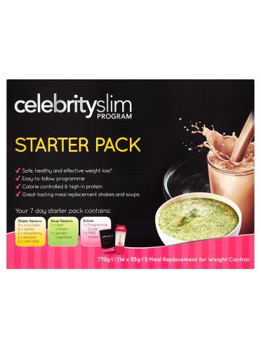 Celebrity Slim Program Starter Pack 14 x 55g (770g)