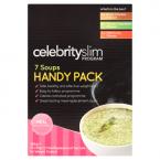 Celebrity Slim Program Soups Handy Pack 7 x 55g (385g)