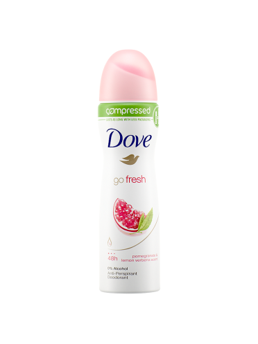 Dove Go Fresh Pomegranate Anti-Perspirant Deodorant Compressed 75ml