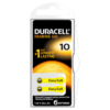 Duracell DA10 Hearing Aid Batteries 6 counts